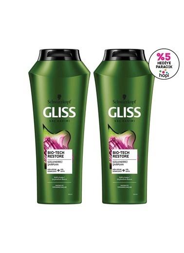 Gliss Bio-Tech Güçlendirici şampuan 500 Ml 2'Li Renksiz